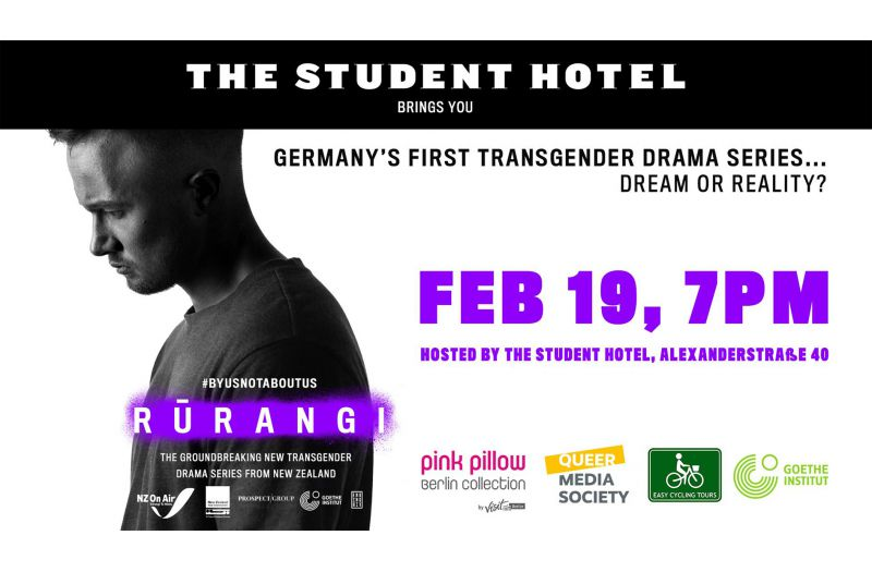 "QMS unterstützt Panel ""Germany's FIRST Transgender DRAMA Series - dream or reality?"" im Februar 2020"
